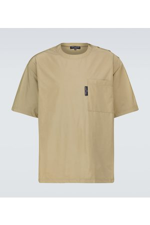 COMME DES GARÇONS HOMME Men Short Sleeve - Short-sleeved technical T-shirt
