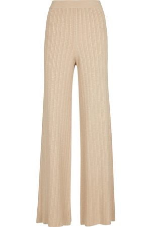 JONATHAN SIMKHAI Women Trousers - Colbie Ribbed-knit pants