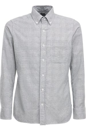 Tom Ford Cotton Prince Of Wales Leisure Shirt