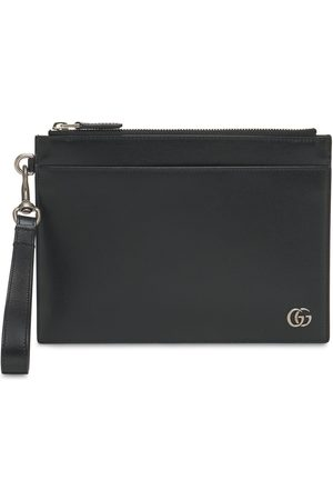 Gucci Men Purses & Wallets - Gg Marmont Leather Pouch