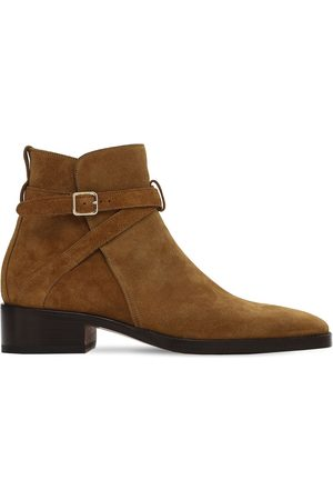 Tom Ford Men Boots - 40mm Rochester Suede Ankle Boots