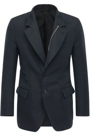 Tom Ford Men Sports Jackets - Cotton & Silk Sport Jacket