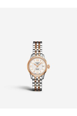 Tissot Women Watches - T41.2.183.33 Le Locle rose gold-plated and stainless steel watch