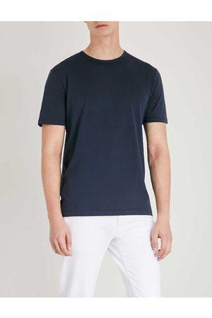 Sunspel Men Short Sleeve - Classic cotton-jersey T-shirt