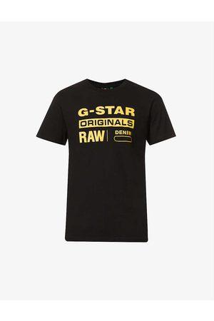 G-Star Men Short Sleeve - Logo-print cotton-jersey T-shirt