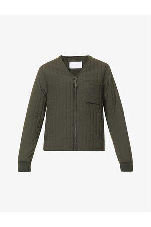 Rains Men Denim Jackets - Zip-up liner shell jacket