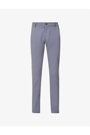 Paige Men Skinny Trousers - Stafford slim-fit mid-rise stretch-woven trousers