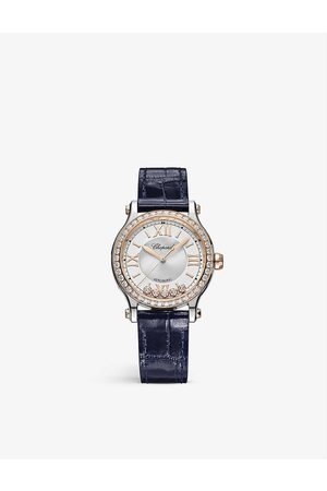 Chopard Women Watches - 278608-6003 Happy Sport 18-carat rose-gold