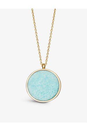 ASTLEY CLARKE Women Necklaces - Stilla 18ct -plated amazonite pendant necklace