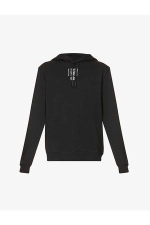 HUGO BOSS Men Hoodies - Graphic-print cotton-jersey hoody