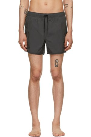 CDLP Men Swim Shorts - Grey Taffeta Swim Trunks