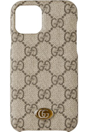Gucci Phones - Beige Ophidia GG iPhone 11 Pro Case