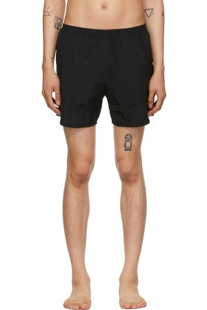 TRUE TRIBE Men Swim Shorts - Black Sport Wild Steve Swim Shorts