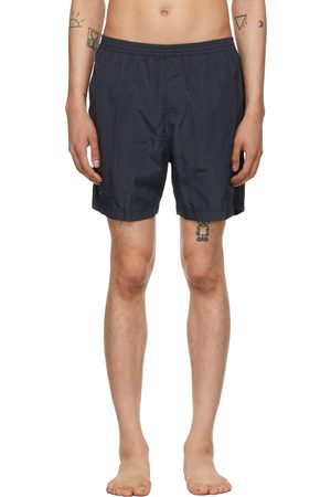 TRUE TRIBE Men Swim Shorts - Navy Neat Steve Swim Shorts
