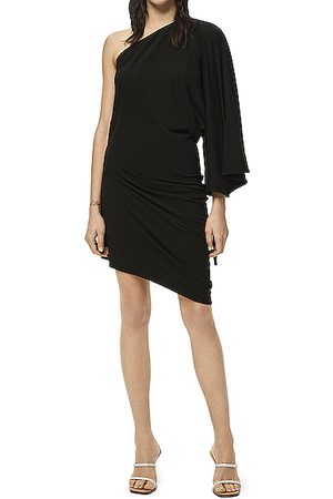 Loewe Paula's Ibiza Asymmetric Jersey Dress in