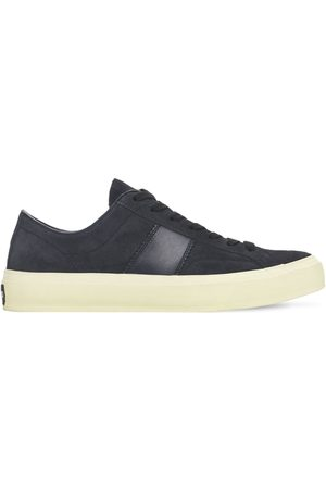 TOM FORD Cambridge Suede Low Top Sneakers