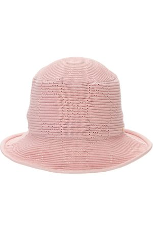 Gucci Gg Cable Knit Crochet Fedora Hat
