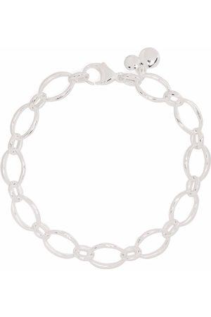 Dinny Hall Women Bracelets - Handmade medium oval link chain bracelet