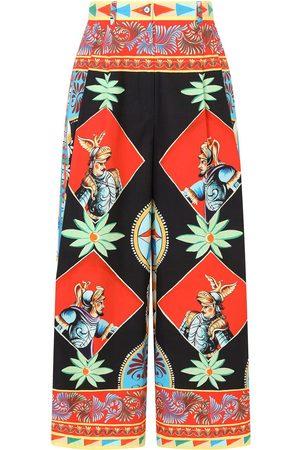 Dolce & Gabbana Women Trousers - Multi-panel palazzo pants