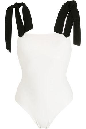 CLUBE BOSSA Lavello two-tone swimsuit