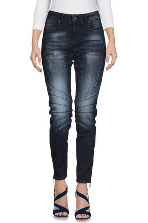 VERSACE Women Trousers - DENIM - Denim trousers