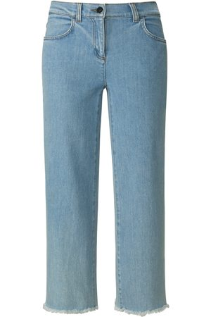 PETER HAHN PURE EDITION Women Culottes - Denim culottes in 4-pocket style denim size: 10