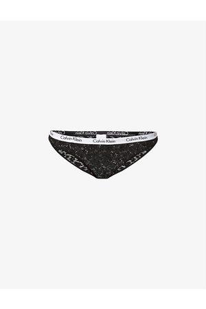 Calvin Klein Women Briefs - Carousel branded mid-rise stretch-lace briefs