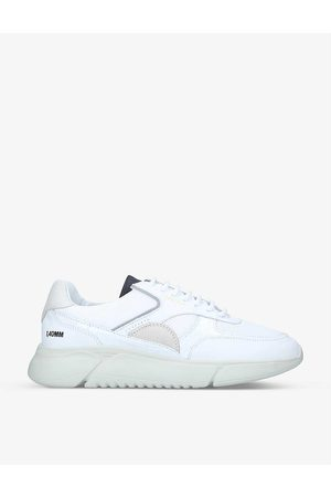 Axel Arigato Men Sports Shoes - Genesis Vintage Runner recycled nylon and leather trainers