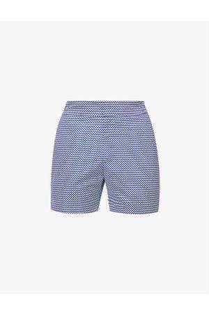 Frescobol Carioca Men Swim Shorts - Classic graphic-print regular-fit swim shorts
