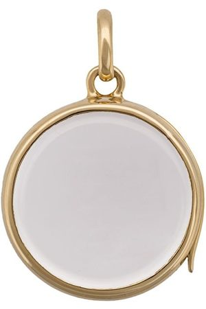 LOQUET Medium Round Gold Locket pendant