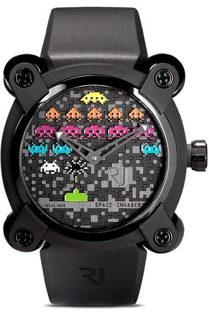 RJ Watches Men Watches - Moon Invader Space Invaders Pop 46mm