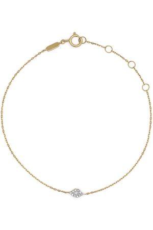 DJULA 18kt yellow Eye diamond bracelet