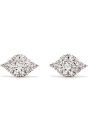 DJULA 18kt rose gold diamond Eyes earrings