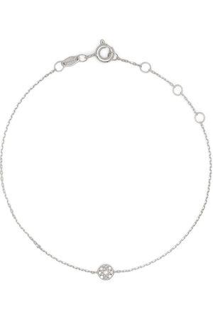 Djula Women Bracelets - 18kt white gold Target diamond chain bracelet