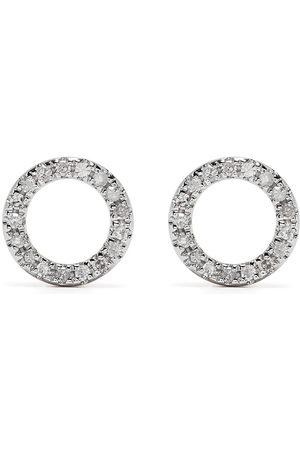 DJULA Men Earrings - 18kt rose gold diamond Circle earrings