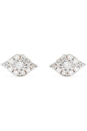 Djula Men Earrings - 18kt gold diamond Eyes earrings