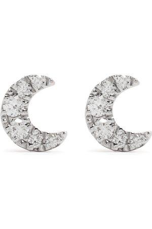 DJULA Men Earrings - 18kt rose gold diamond Moon earrings