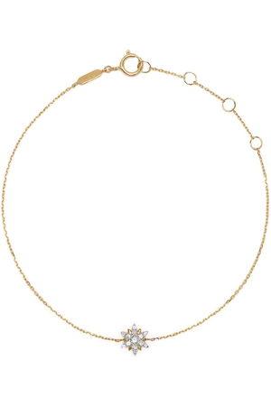 Djula 18kt yellow Sun diamond bracelet