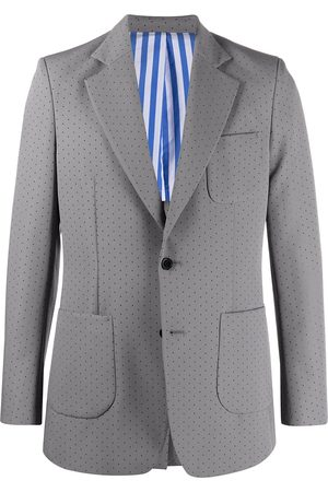 Viktor & Rolf Men Suits - Perforated-detail single-breasted suit
