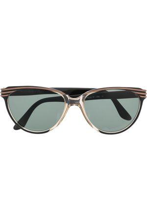 Yves Saint Laurent Women Sunglasses - 1980s tinted round-frame sunglasses
