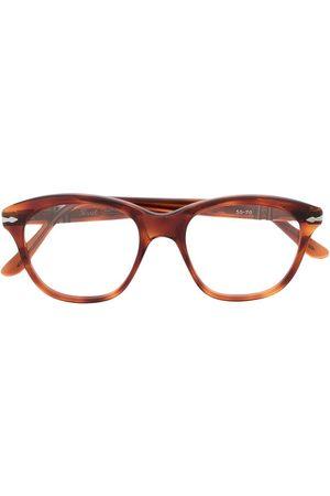 A.N.G.E.L.O. Vintage Cult 1980s tortoiseshell square-frame glasses - Neutrals