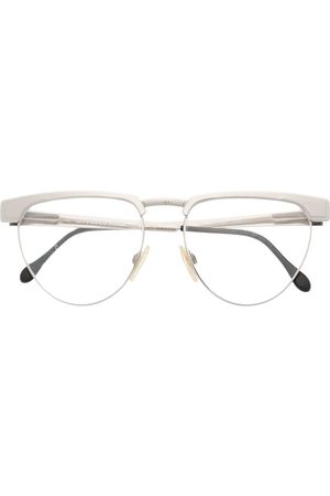 Gianfranco Ferré 1990s round-frame glasses