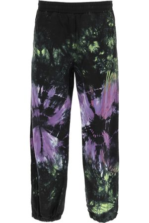 ARIES TIE-DYE DRILL JOGGERS XS , , Cotton