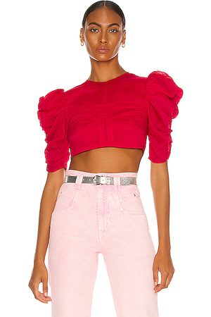 Isabel Marant Women Tops - Kobiaci Top in Fuchsia