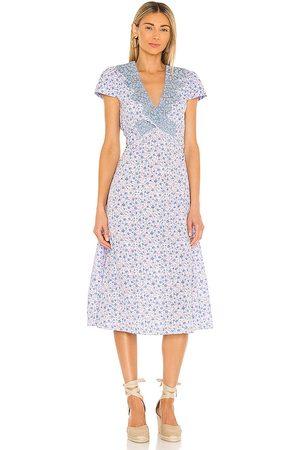 LOVESHACKFANCY Minuet Dress in . Size 2, 4, 6, 8, 10.