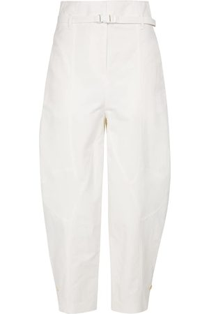 Stella McCartney Daisy high-rise cropped pants