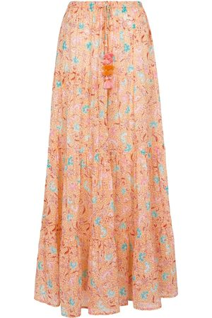Poupette St Barth Exclusive to Mytheresa – Triny printed cotton maxi skirt