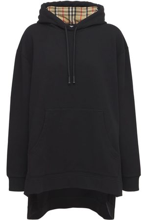 Burberry Women Sweatshirts - Aurore Cotton Jersey Sweatshirt Hoodie