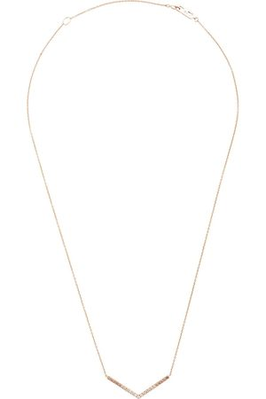 Eva Fehren Women Necklaces - 14kt rose v diamond necklace