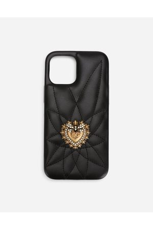 Dolce & Gabbana Women Phones - Technology - Quilted calfskin Devotion iPhone 12 Pro max cover female OneSize